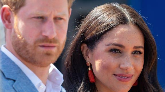 Prince Harry and Meghan Markle will not return as working royals. (PA)