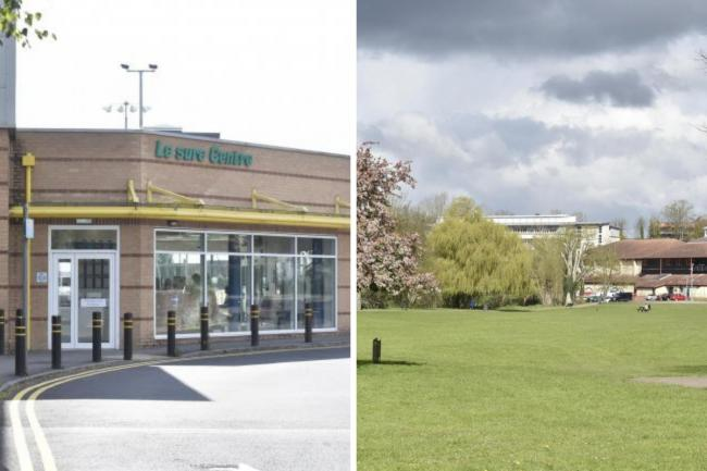 Devizes Leisure Centre and Monkton Park