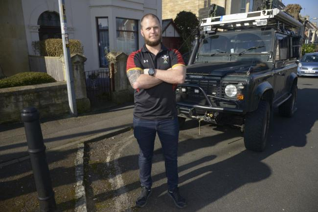 Gary Zelley, 37, fought the council over a parking fine issued on erased double yellow lines Photo Trevor Porter