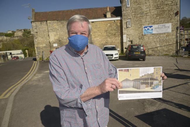 Richard Cottle is one of the residents opposing the marquee plans Photo Trevor Porter