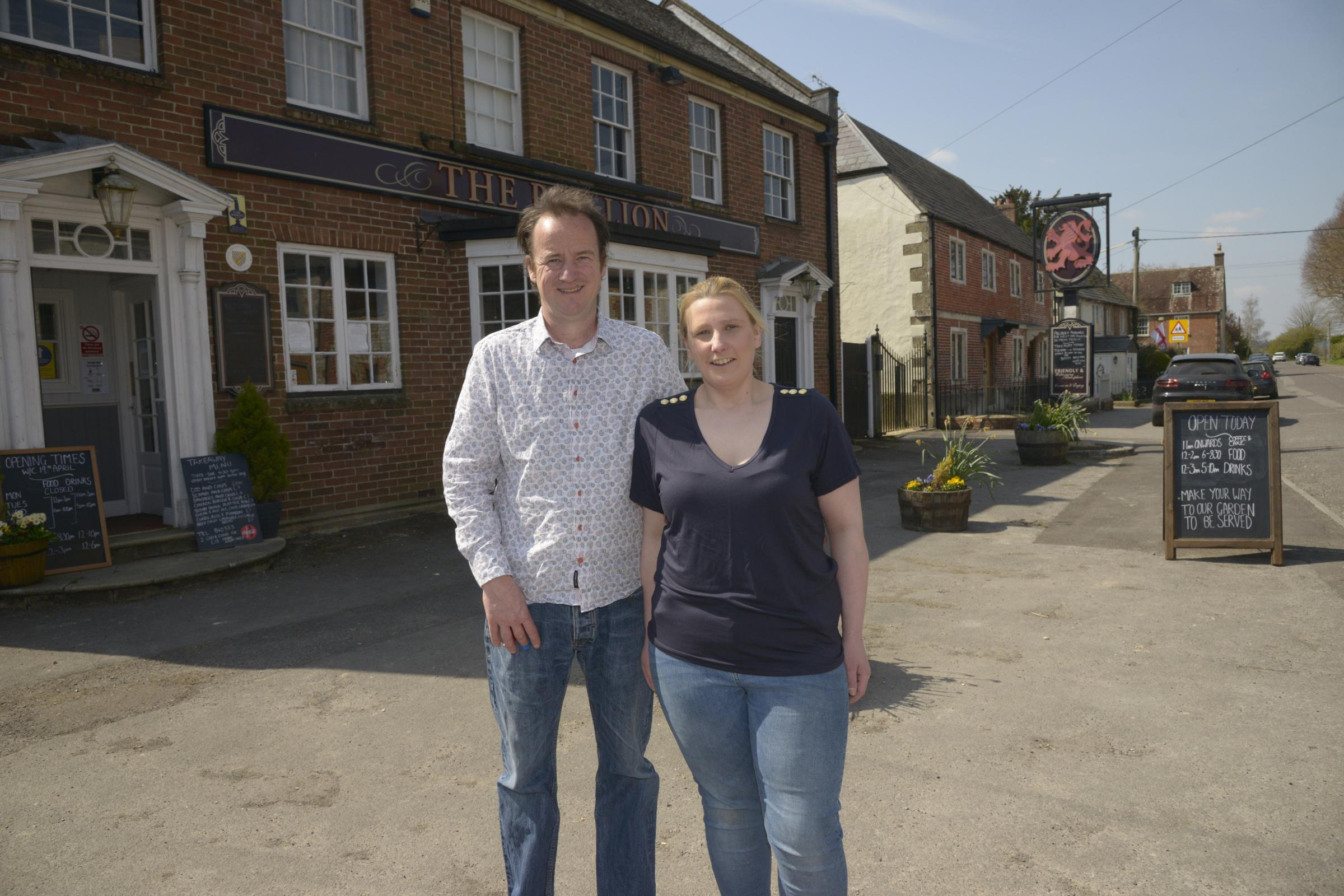 Couple launch family-led pub business