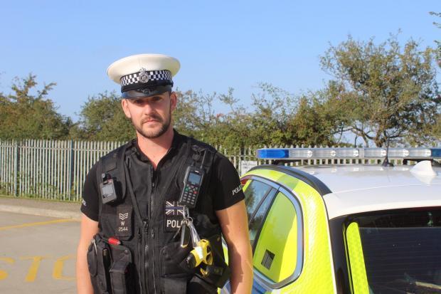 Wiltshire Times: Sgt William Ayres of Wiltshire Police