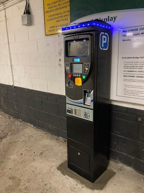 Contactless machines installed at council car parks across the county