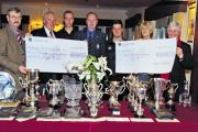 Erlestoke Golf Club Members hand over their cheques