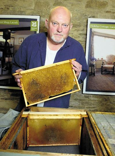 Patrick Anderson, education co-ordinator with the Melksham Beekeeping Association, at the one-day course