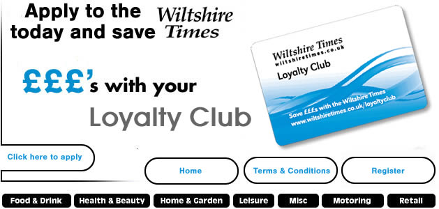 Wiltshire Times Loyalty Card