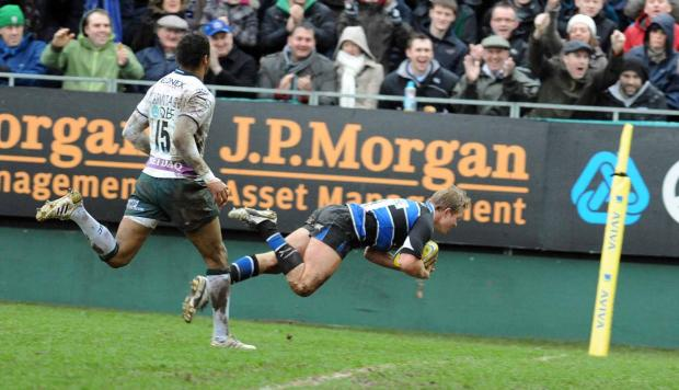 Bath scrum-half Michael Claassens