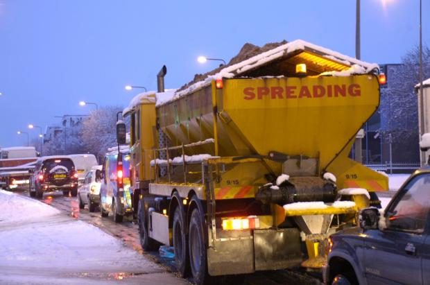Gritters will be out in force tonight on Wiltshire's roads