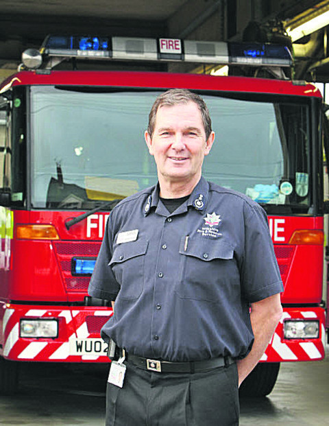 Wiltshire's chief fire officer Simon Routh-Jones