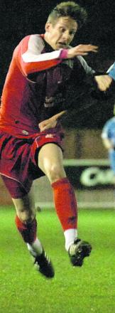 Ricky Hulbert was on target for Frome