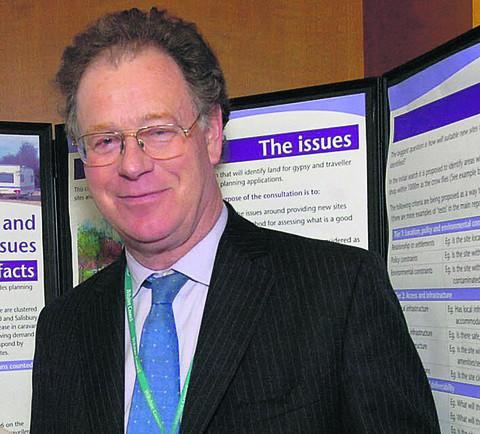 Toby Sturgis, Wiltshire Council's cabinet member for spatial planning