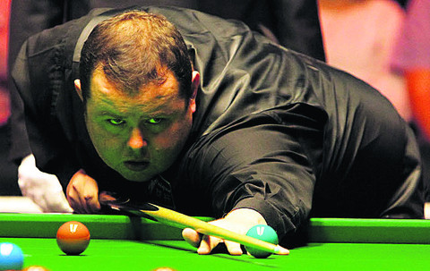 Stephen Lee is into the last four of the China Open