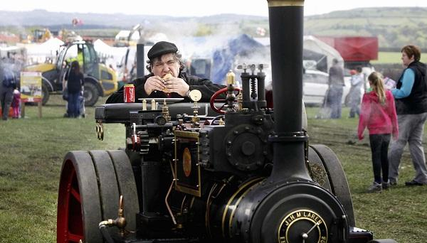The age of steam will be in evidence in Bratton this weekend