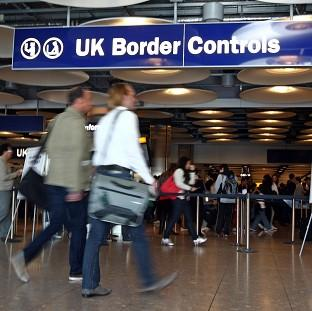 The Government is 'looking at the trends' on immigration from struggling European economies