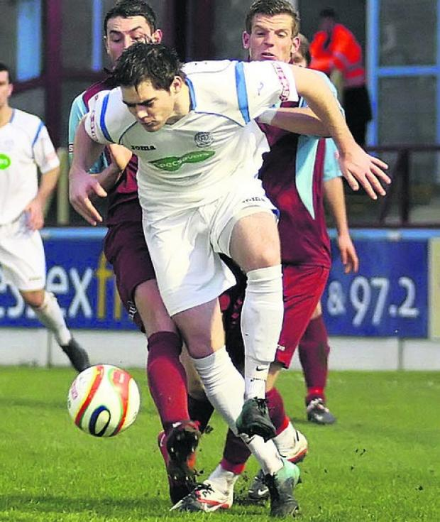 Wiltshire Times: Greg Tindle has returned to Chippenham Town from Calne Town