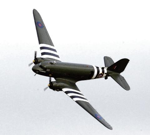 A Dakota in D-Day livery