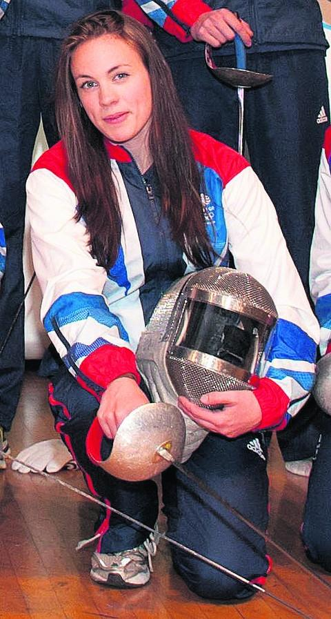 Team GB sabre star Sophie Williams