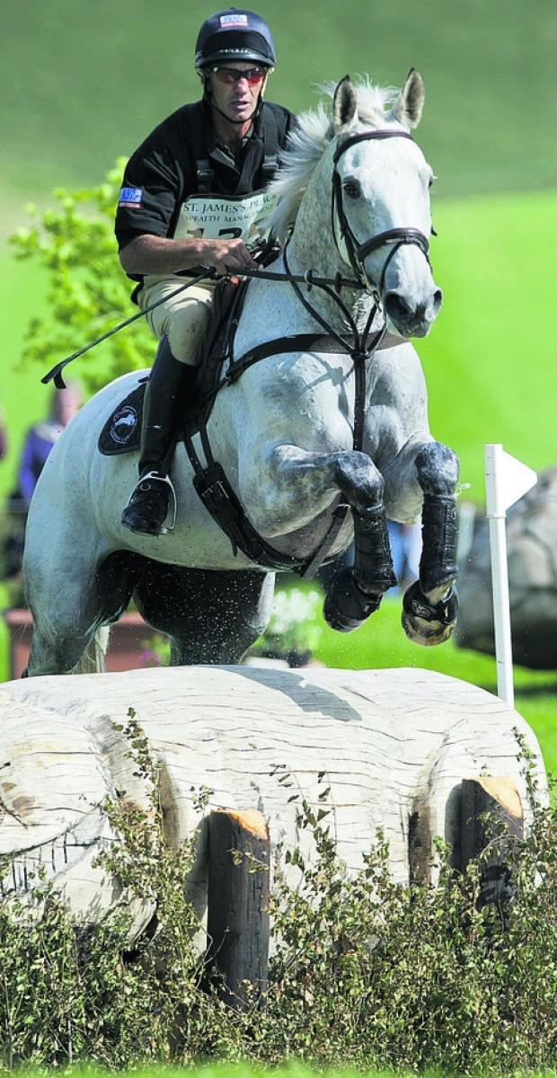 Wiltshire Times: Andrew Nicholson and Avebury