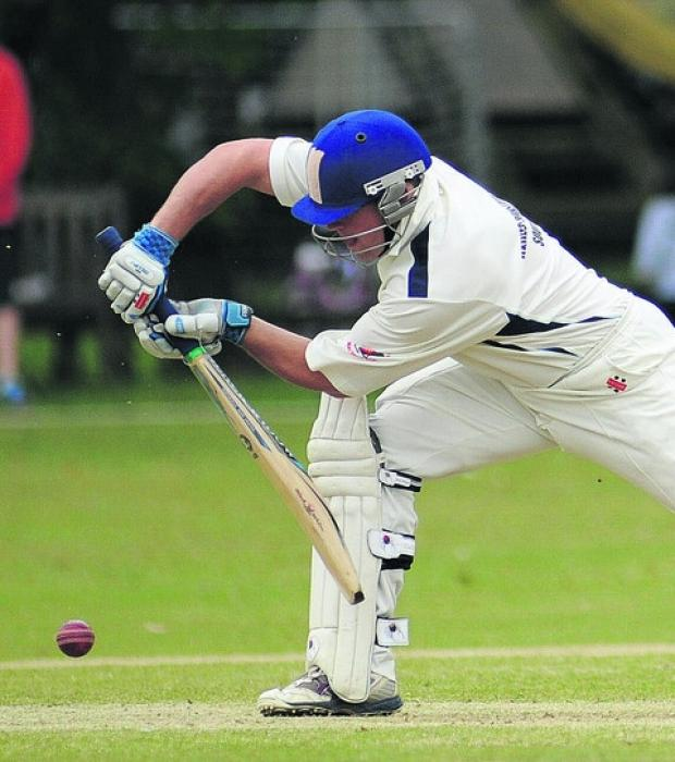 Ed Kilbee hit 126 off 146 balls as Wiltshire beat Staffordshire by two runs