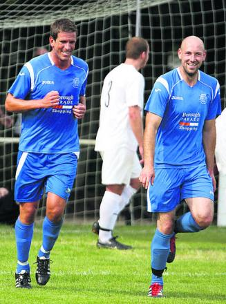 Chippenham Town manager Nathan Rudge (left) has no problems with winning ugly