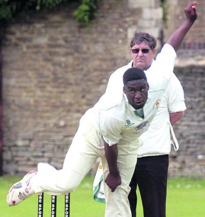 Ashur Morrison took two wickets in Corsham's defeat against Weston-super-Mare