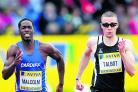 Danny Talbot and Christian Malcolm are part of the Team GB sprinting squad