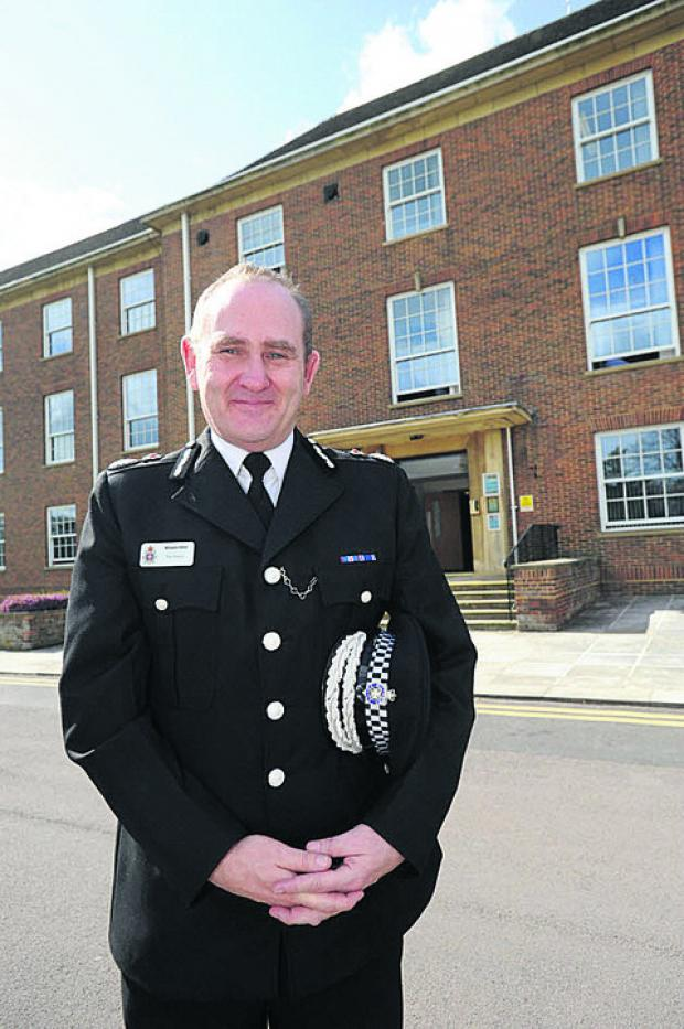 Chief Constable Patrick Geenty