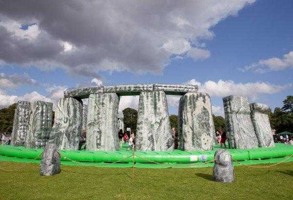 Work on the Stonehenge site is due to be completed by the end of this year