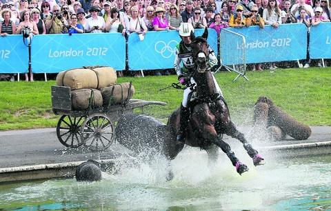 Lucinda Fredericks hopes to keep working with Flying Finish, the horse she competed on at London 2012.