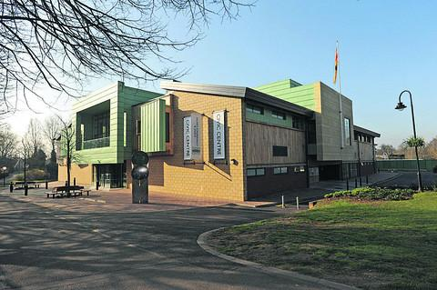 Trowbridge's revamped Civic Centre was not £700,000 overbudget, says mayor John Knight