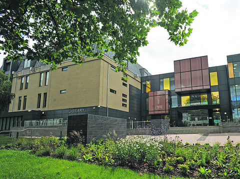 The new library at County Hall, Trowbridge