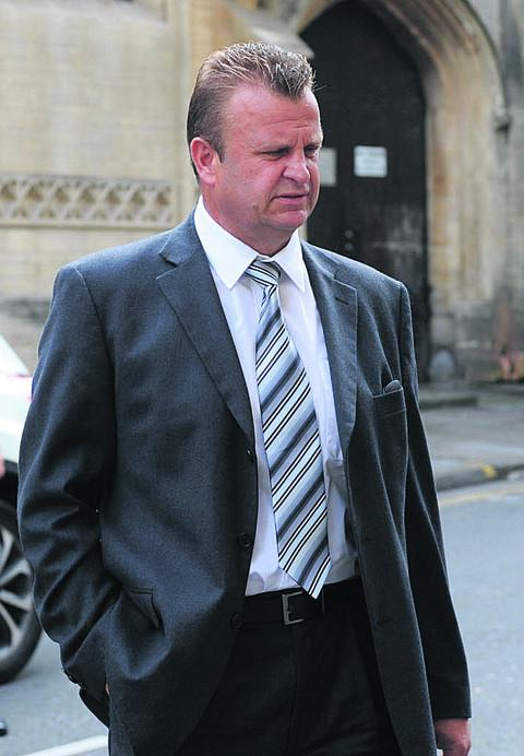 Richard Elmes, who was today found guilty of the manslaughter of Adrian Cooksey