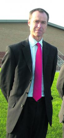 Abbeyfield School headteacher David Nicholson