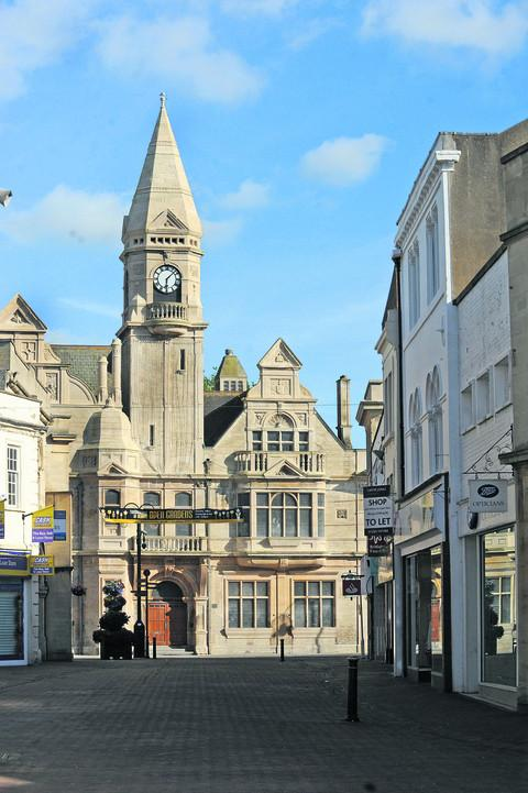 Trowbridge Town Hall is one of many historic buildings locally open this weekend.
