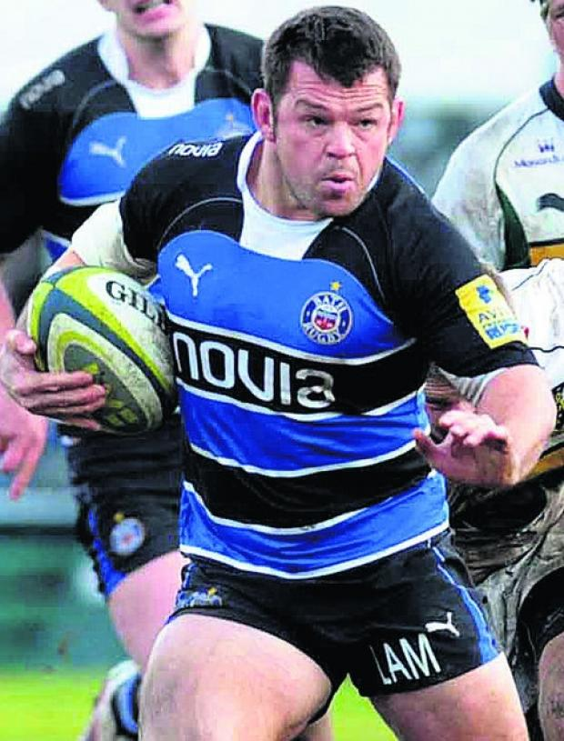 Wiltshire Times: Bath veteran Lee Mears has announced his retirement