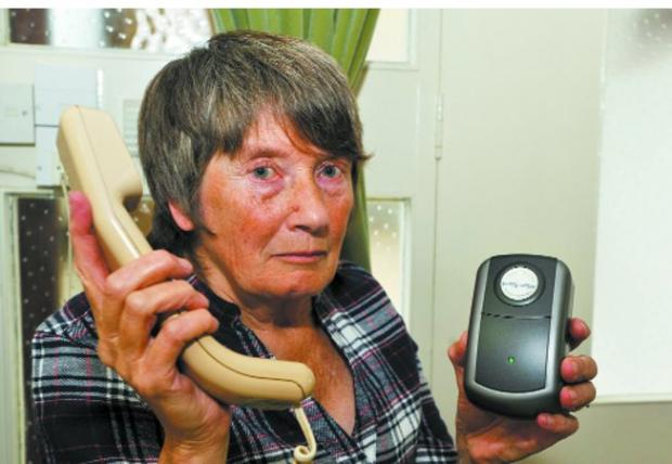 Judy Farr of Trowbridge was the victim of a phone scam  Photo: Glenn Phillips (31995)