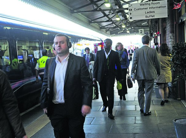 Commuters arriving at Westbury station. A new franchise could see their journey delayed