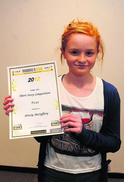 Children's story winner Kirsty McCaffery