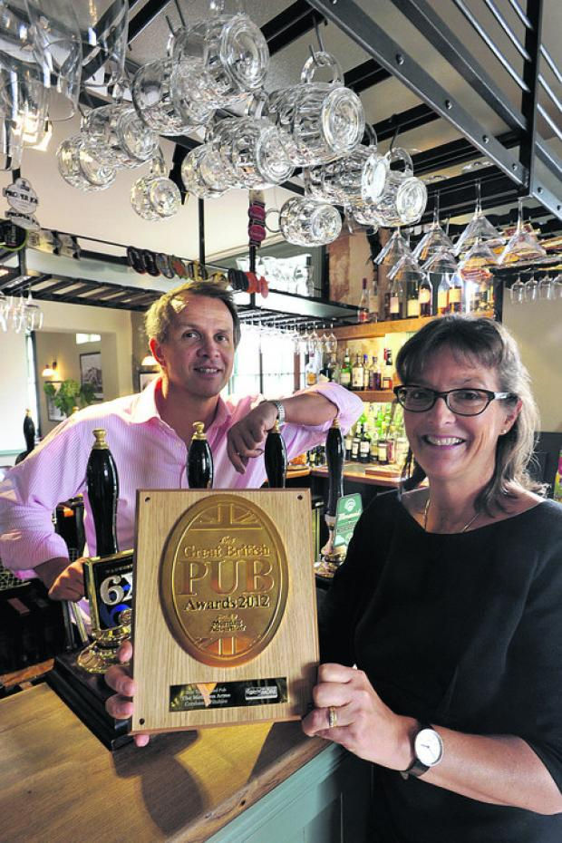 Martin and Debbie Still spent a year restoring the Methuen Arms in Corsham, before reopening it in November 2010