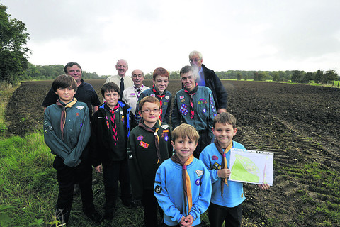 Scouts buy campsite near West Ashton