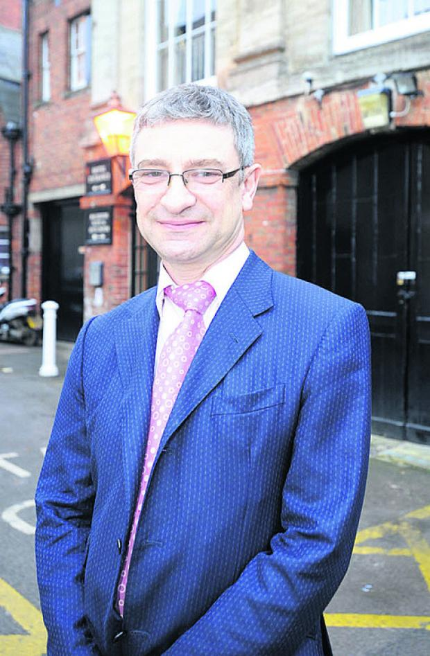 Rob Perks, chief executive of Wessex Chambers of Commerce