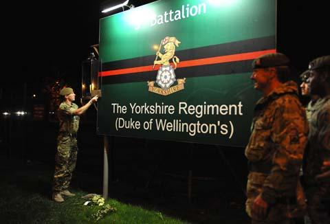 3 Yorks soldiers back home in Warminster
