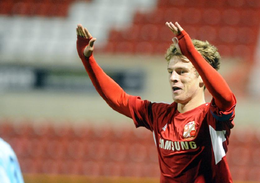 Swindon Town youngster Alex Ferguson is one of four new signings at Frome Town