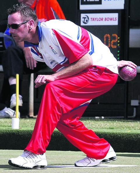 Trowbridge bowler Graham Shadwell pictured in action at the World Championships in Adelaide, Australia, this week (Photo: Bowls Australia)