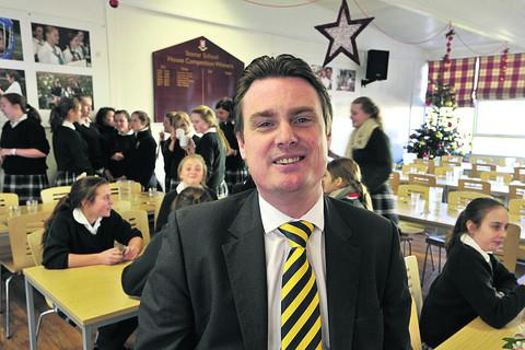 Toby Nutt, the new headteacher at Stonar School, Atworth