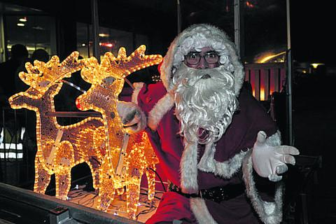 Lights go on as Santa reschedules