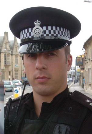 PC Kevin Harmsworth