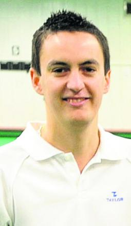 Wayne Snook reached the quarter finals of Clarrie Dunbar's tournament