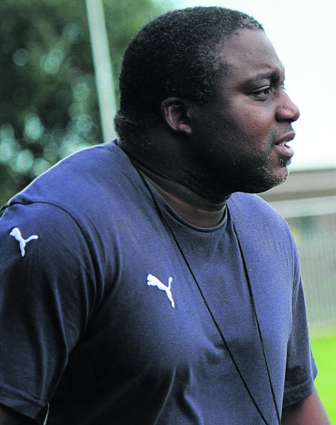 Trowbridge head coach Steve Ojomoh