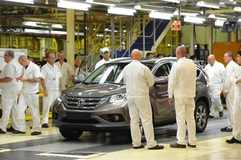 800 jobs are to go at Honda's Swindon plant